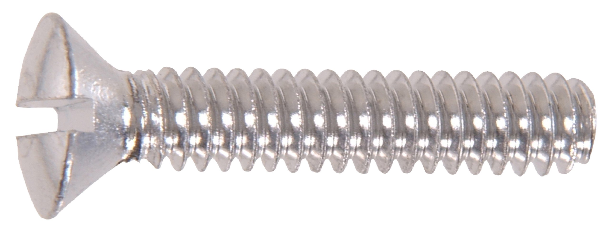 The Hillman Group The Hillman Group 1134 Aluminum Round Head Slotted Machine Screw 6-32 x 1/2 In. 40-Pack