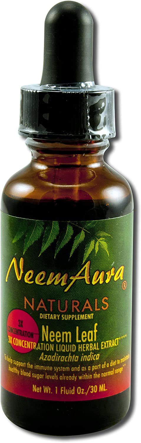 Neemaura Naturals Neem Extract Triple Potency (1 To 5) 1 Ounce: Health & Personal Care