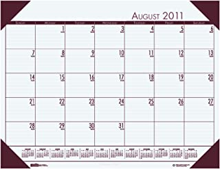 product image for House of Doolittle EcoTone Academic Desk Pad Calendar, August 2010 to July 2011, 13 x 18 Inch (HOD012541)