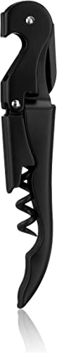 True-Brands-Truetap-Matte-Black-Double-Hinged-Corkscrews