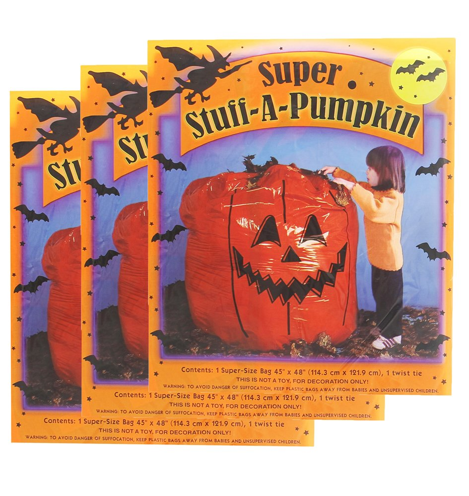 Super Stuff A Pumpkin Leaf Bags - 3 Pack by sheerlund products