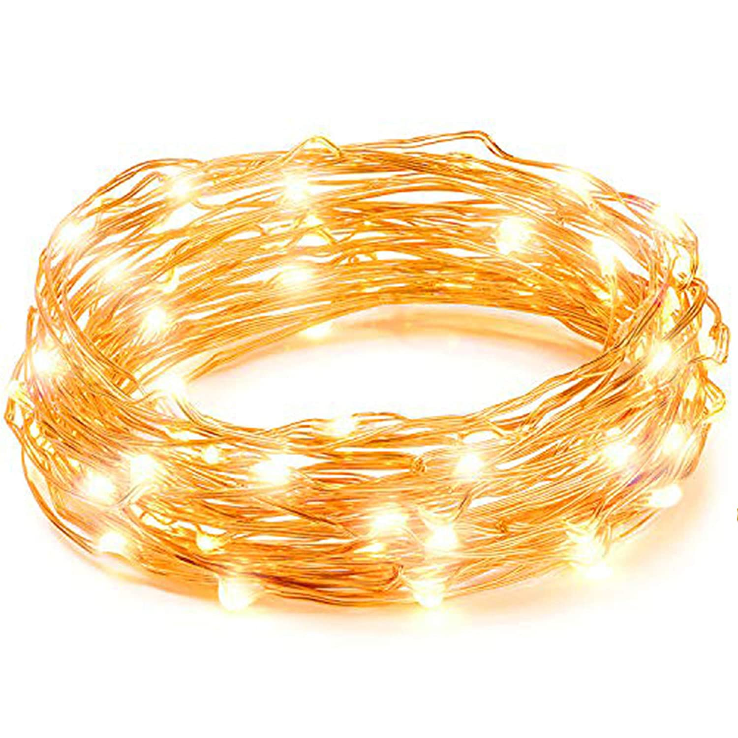 LED String Lights, Copper Wire Starry String Light, Soothing ...