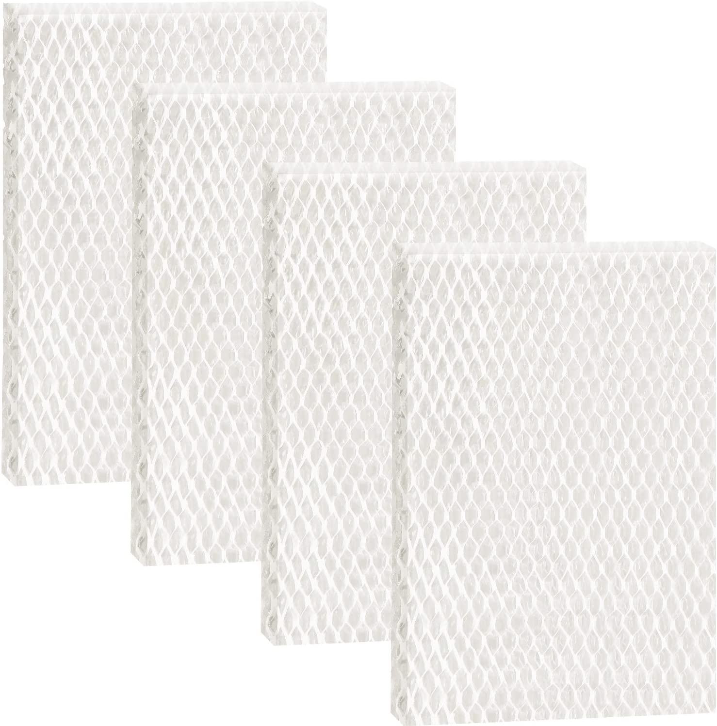 Outus 4 Pieces Humidifier Wicking Filter Replacement Humidifier Wick, Compatible with Honeywell Humidifier HAC-700, HAC-700V1, HAC700PDQV1
