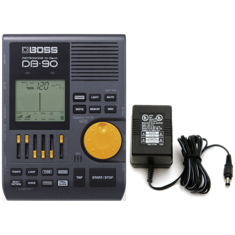 BOSS DB-90 Talking Dr. Beat Metronome w/ Power Supply
