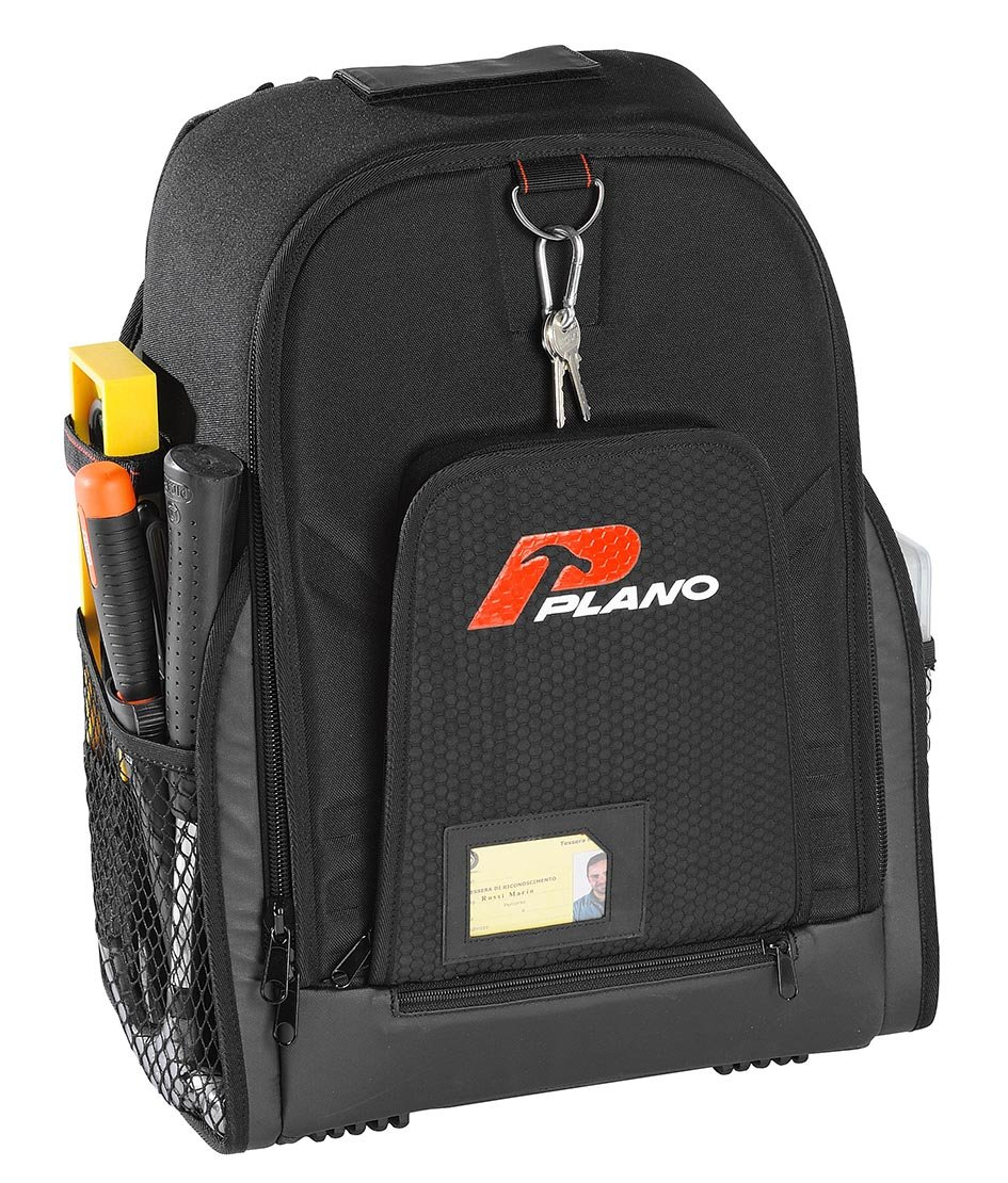 Plano 513006NT Professional Tool Backpack, Transparent