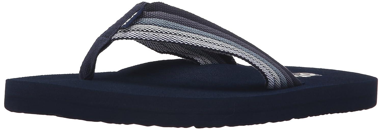 804b9a07db0b0 Teva Men Mush II Canvas Toe Post Flip FLop Slide Sandals