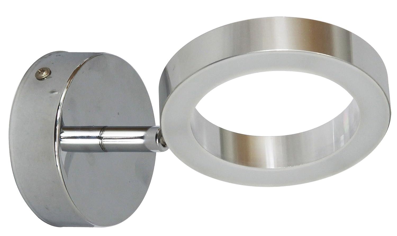 Ranex 3000.080 Anzio Applique de Salle de Bain Aluminium/Chromé