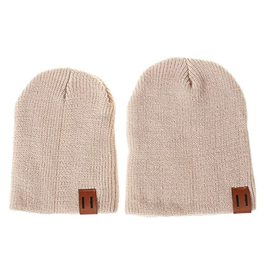 Amazon.com  kaiCran 2PCS Parent-Child Hat Warmer f4dd83c806bd