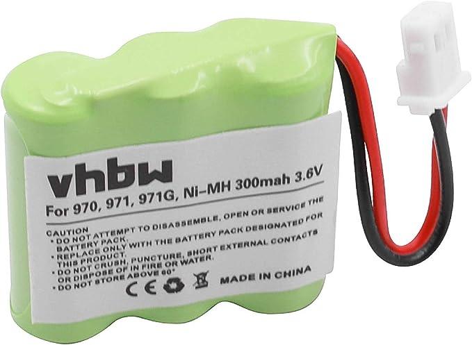 Vhbw Ni Mh Battery 300 Mah For Cordless Phone Elektronik