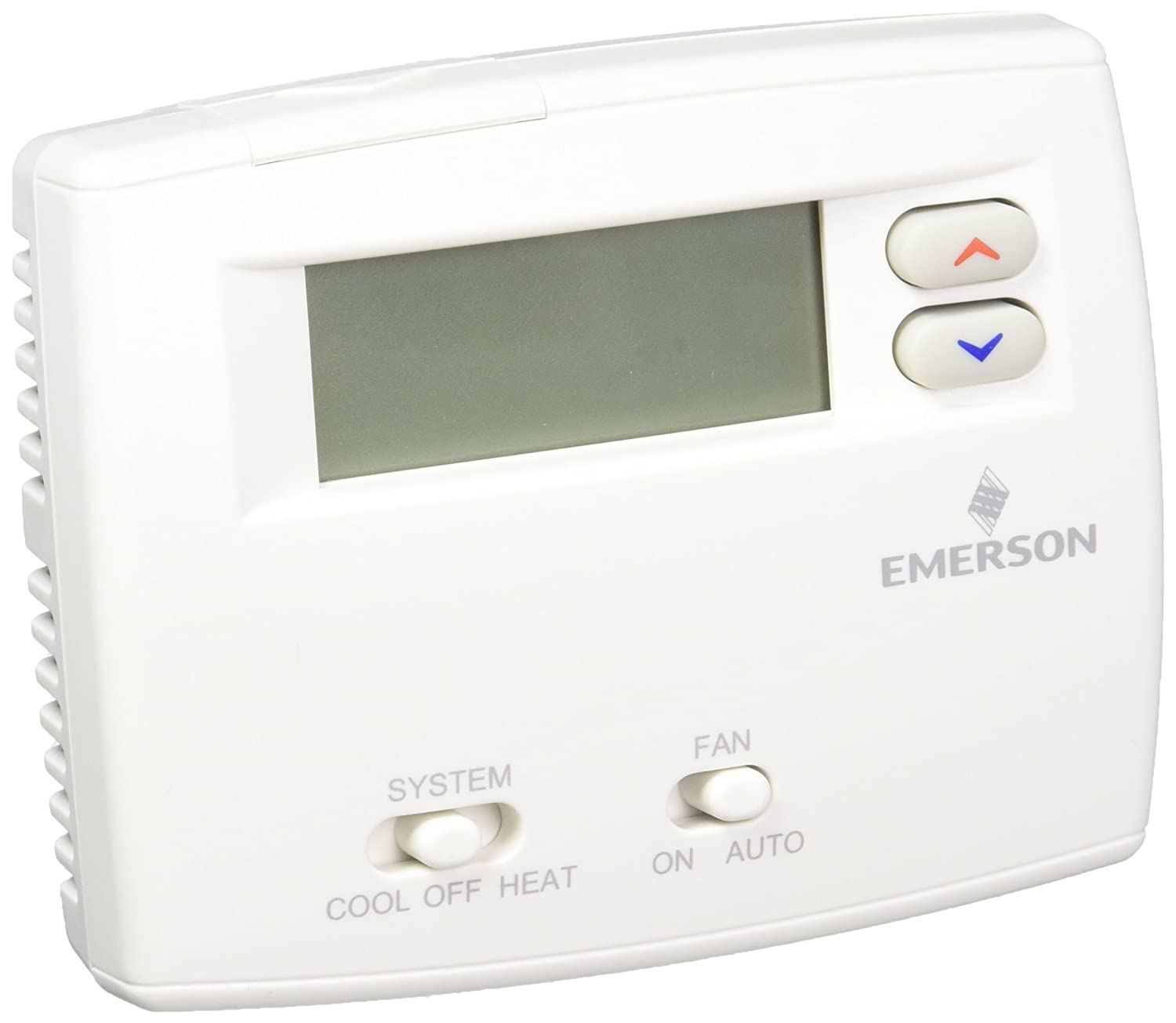 Emerson Thermostats White Rodgers 1F86-0244 Non-Programmable Thermostat  1H/1C Blue