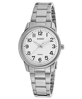 5d9663b38c9 Amazon.com  Casio General Ladies Watches Standard Analog LTP-1303D-7BVDF -  WW  Casio  Watches