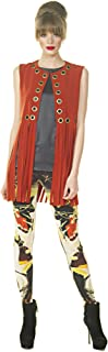 product image for Eva Varro Women's Grommet Fringe Vest