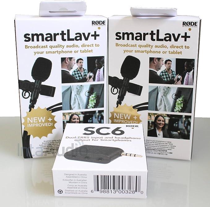 Rode SmartLav+ Lavalier - Kit para entrevistas: Amazon.es: Electrónica