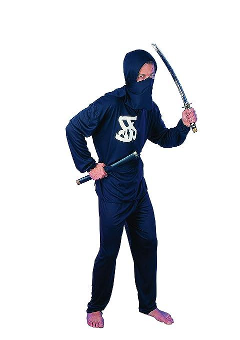EL CARNAVAL Disfraz Guerrero Ninja Hombre - Talla única - Color ...