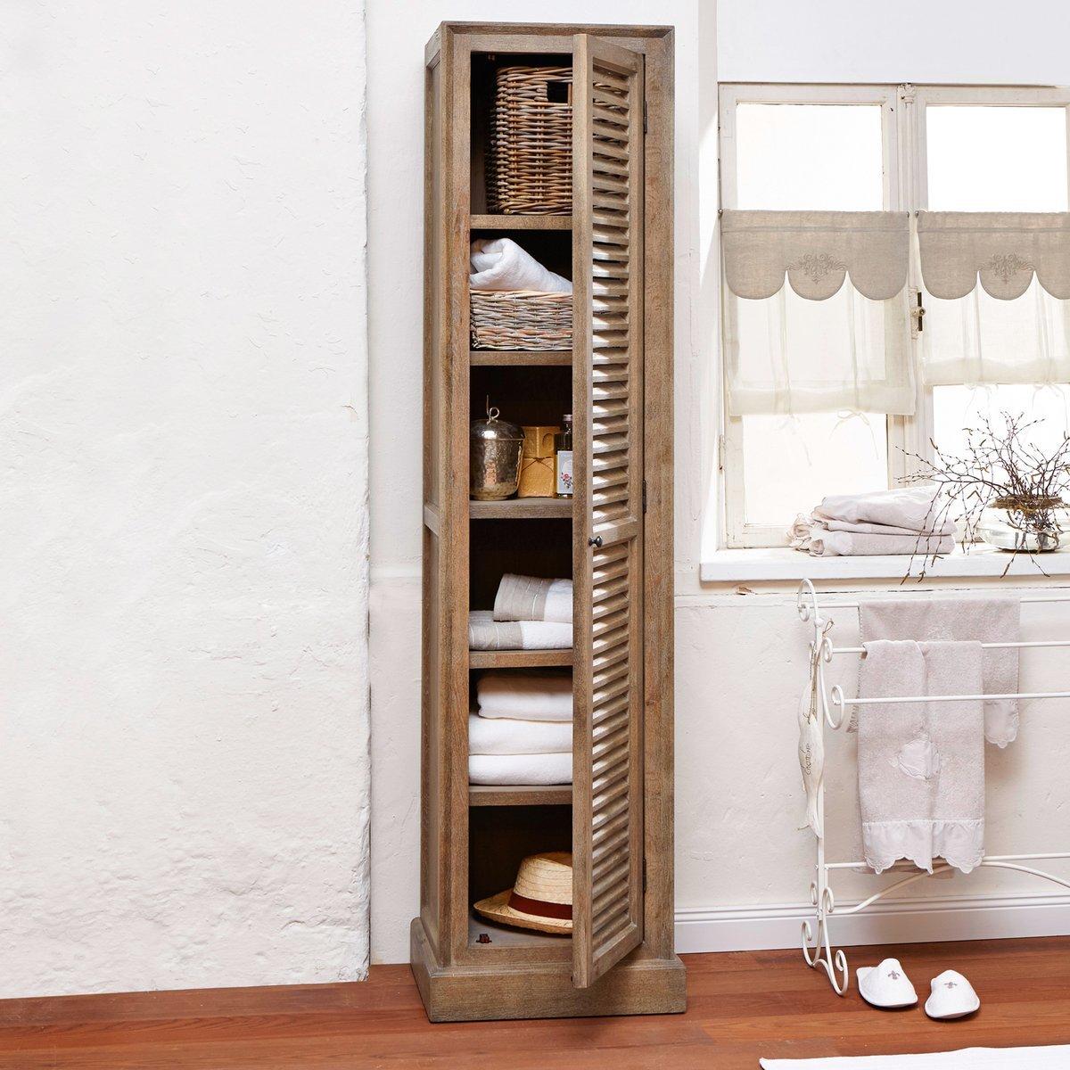 Mirabeau badezimmerschrank issambres aus eichenholz - Design badezimmerschrank ...