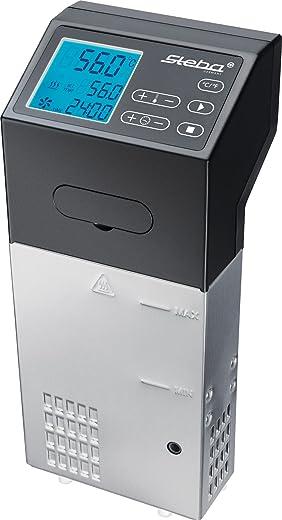 Steba SV 100 PROFESSIONAL Sous-Vide Garer Pompvermogen 7,5 l/min, 1500 W, zwart, roestvrij staal