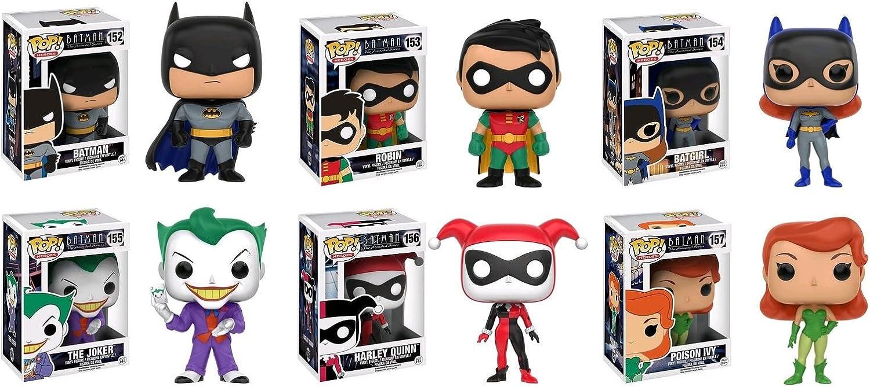 Funko POP! DC Comics Mystery Pack - 6 Random Stylized Vinyl Figure Set NEW: Amazon.es: Hogar