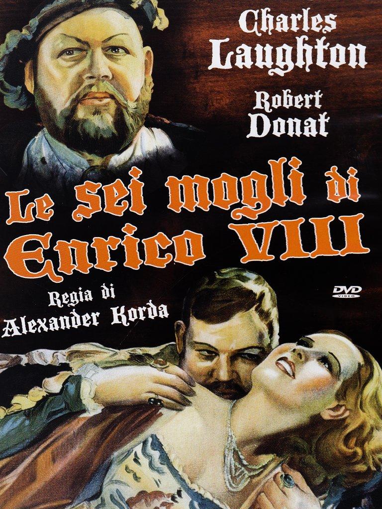 Amazon Com Le Sei Mogli Di Enrico Viii Dvd Italian Import Charles Laughton Franklin Dyall Alexander Korda Movies Tv