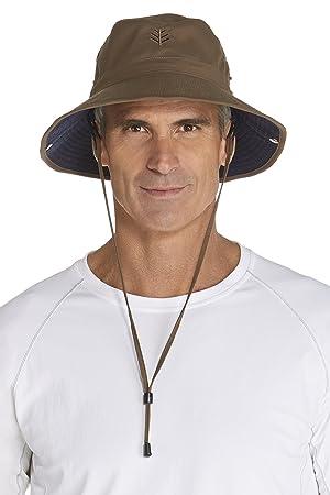 12fcd3932 Coolibar Men's Upf50+ Uv Protective Bucket Hat: Amazon.co.uk: Sports ...