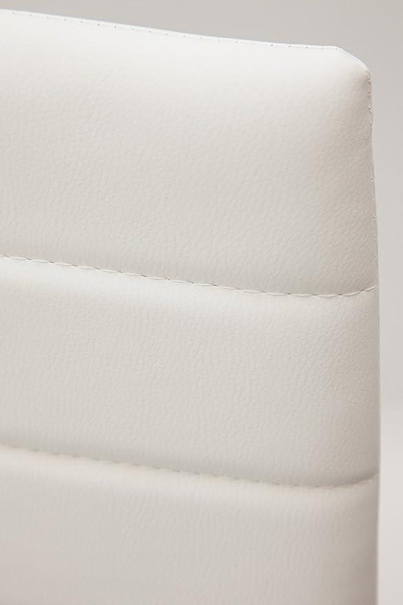 Bianco Albatros 2699 Milano Set di 6 sedie da Pranzo