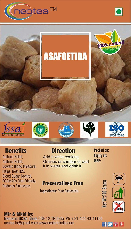 Neotea Asafoetida | Hing (100g)