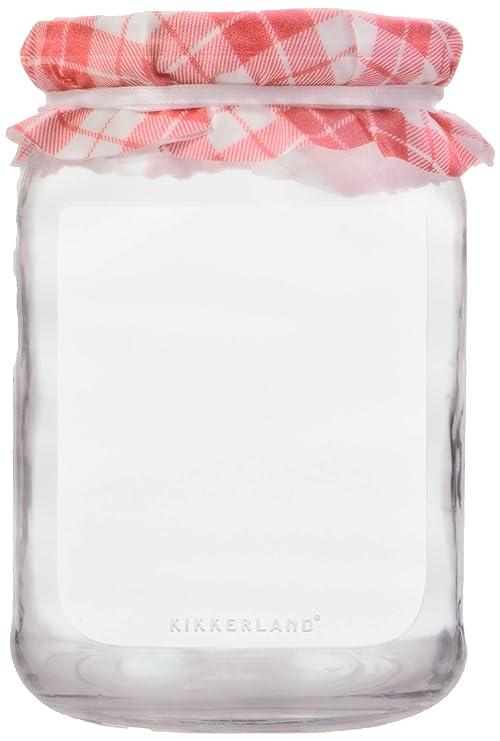 Kikkerland - Bolsas para mermeladas (Polietileno, 21,4 x 0,6 ...