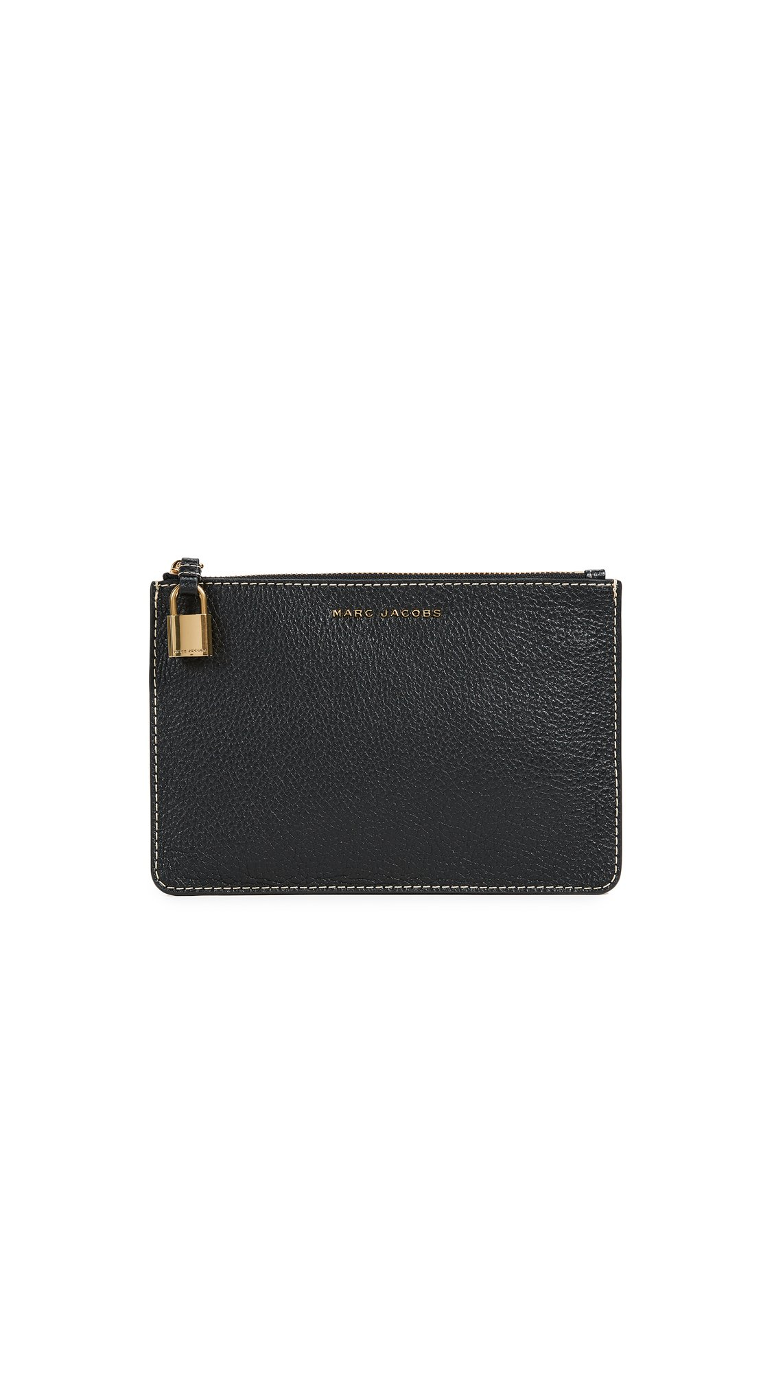 Marc Jacobs Women's The Grind Medium Pouch, Black, One Size