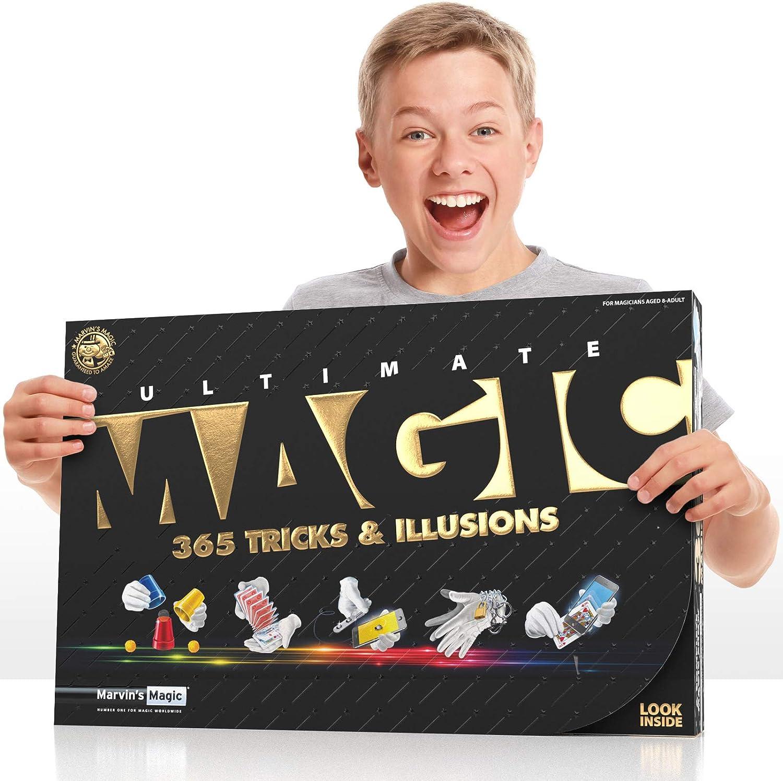 Marvins Magic Ultimate Magic Tricks and Illusions 365