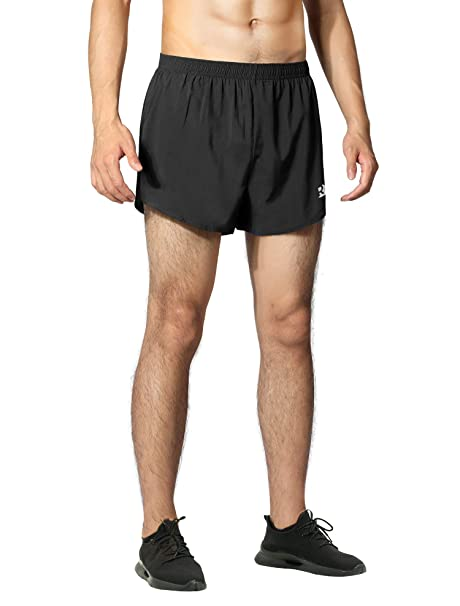 """248b5fc111 Roadbox Men's 3"""" Running Shorts, Quick-Dry Lightweight Pace Athletic  Gym Jogging Workout"""