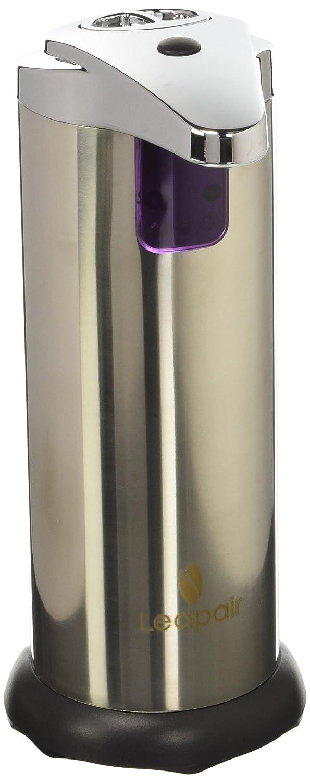 Leapair Dispensador de Jabón Automático Jabonera Sin Contacto Dosificador Automática Inoxidable de Jabón para Baño, Hotel, Restaurante, Cocina, etc.