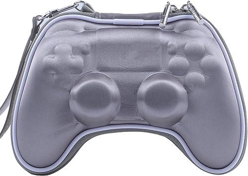 Funda Protectora para Mando de PS4 Playstation 4 Slim PS4 Pro Wireless Gamepad con Correa de muñeca: Amazon.es: Electrónica