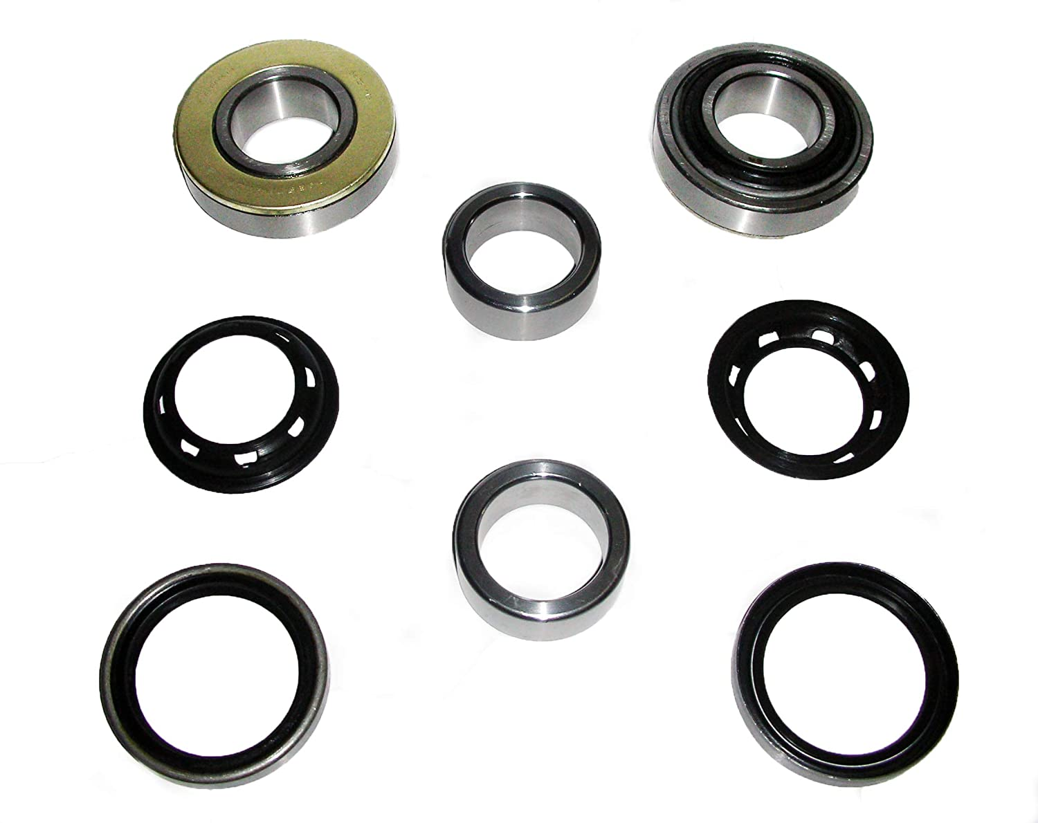 SUZUKI KOYO JAPAN SJ410 SJ413 HEAVY DUTY REAR AXLE HUB WHEEL BEARING OIL SEAL RETAINER REBUILD REPAIR RECO KIT SAMURAI JIMNY SIERRA CARIBIAN STOCKMAN DROVER 09269-35009 09283-48007 43588-7300 43485 ROCKSTA9