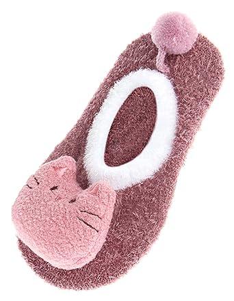 6b4669c81d25d Eozy Cassette Chausson 3D Cartoon Mignon Bébé Antidérapant Souple Chaude   Amazon.fr  Vêtements et accessoires