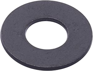 "1/4"" x 5/8"" OD Black Xylan Coated Stainless Flat Washer, (25 Pack) - Choose Size, by Bolt Dropper, 18-8 (304) Stainless Steel"