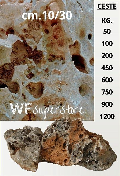 Roca natural para jardín, 10/30 cm En mini cestas – Roca, piedra.: Amazon.es: Jardín
