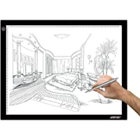 A3 Light Box, AGPtek LED Artcraft Tracing Light Pad Ultra-Thin USB Power Cable Dimmable Brightness Tatoo Pad Aniamtion…