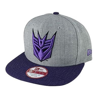NEW ERA 9Fifty Hat Decepticon Transformer gray Purple Snapback One Size  Cap  Amazon.in  Clothing   Accessories 41ea18ca682