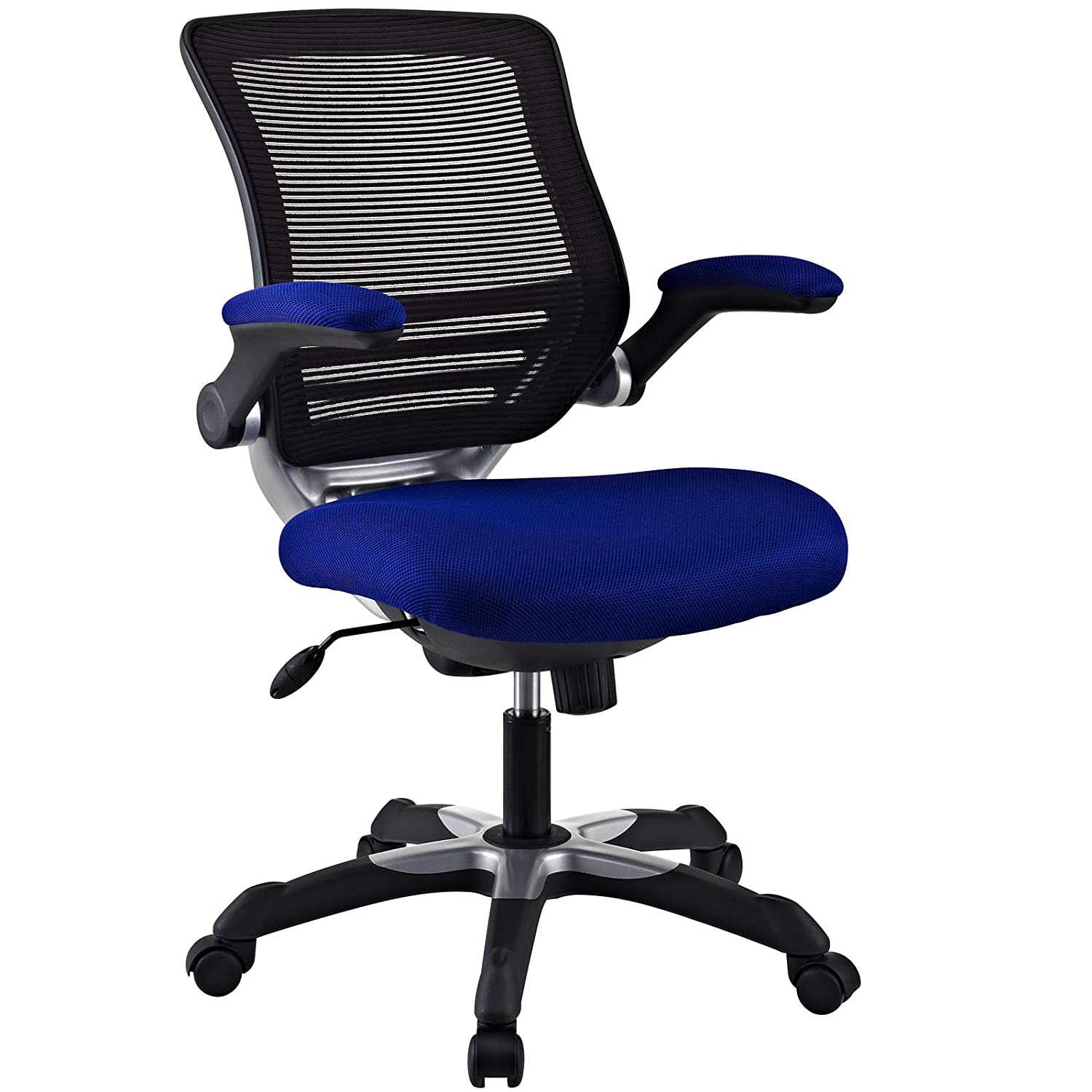 Amazon Modway Edge Mesh Back and Blue Mesh Seat fice Chair