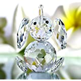 H&D Cut Kristallfigur Elefant, Glas Ornament Collection