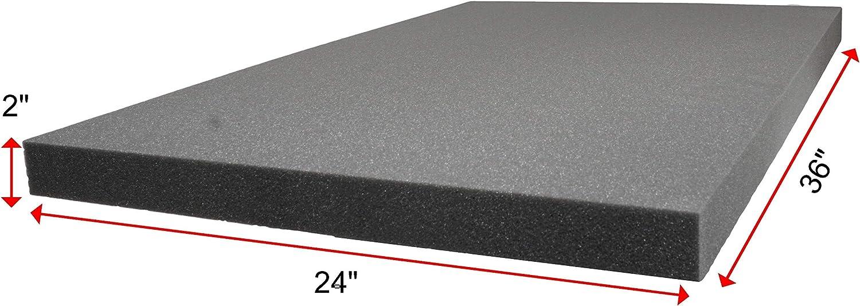 Case Club Polyethyelene Customizable Foam 36 x 24 x 1.0 Inches