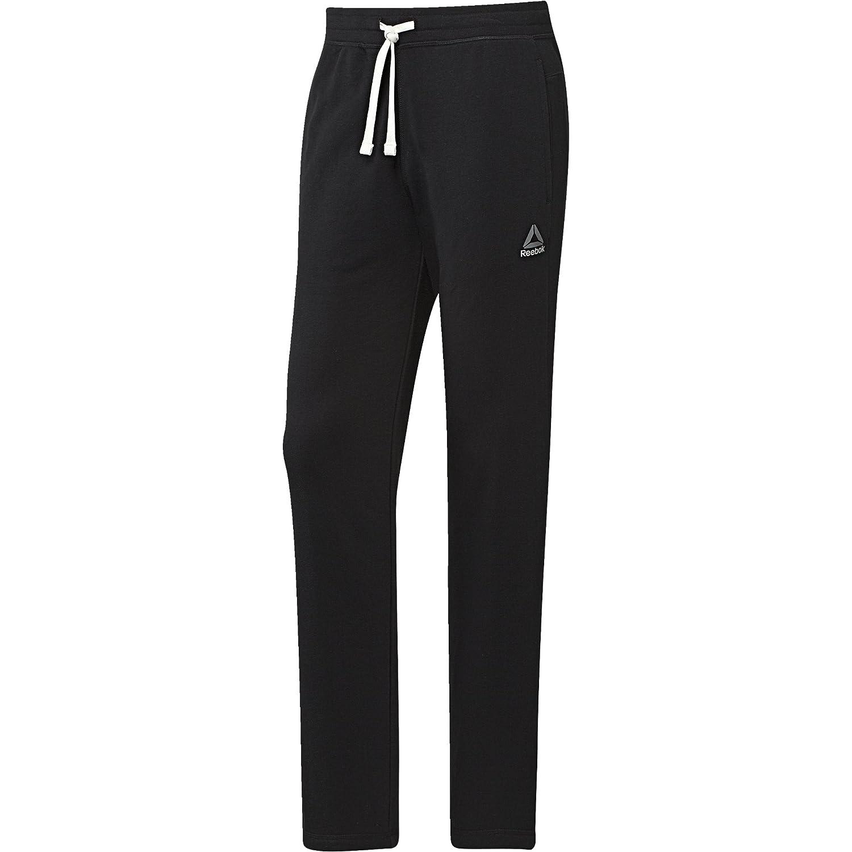 Reebok Men's Elements Seasonal French Terry Open Hem Pants, 2XLTG, Black BK5058