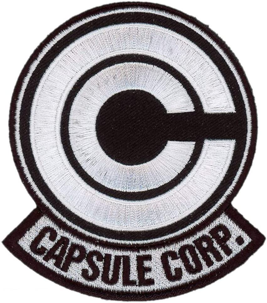 Tactical Black Capsule Corp Anime Dragon Z Patch Titan One Europe