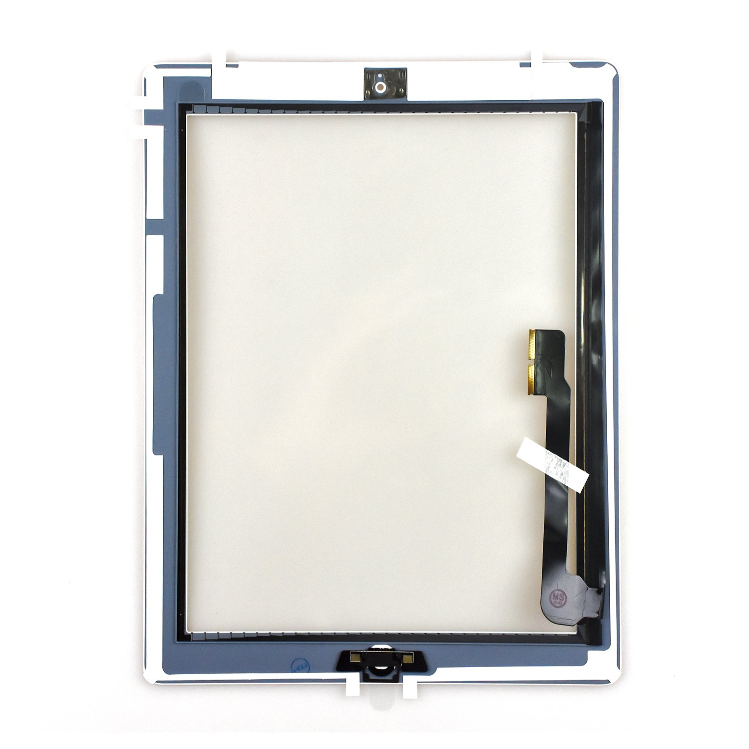 White Touch Screen Digitizer Assembled with Home Button Strong Adhesive for iPad 3 3rd Generation A1416 A1403 A1430 by Leadream (Image #2)
