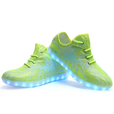 LED Luminous Unisex Sneakers Men Women USB Charging Light Colorful Glowing Leisure Flashing Sport Shoes