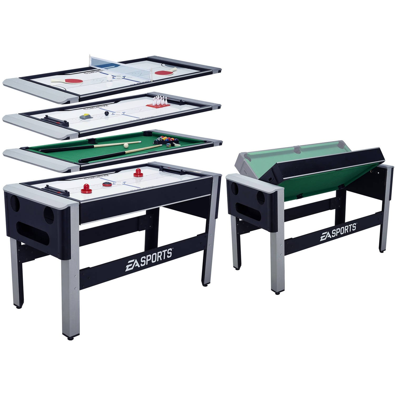 EA Sports Swivel Game Table 4 in 1 with Accessories