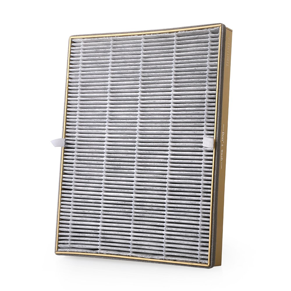 VAVA Air Purifier Replacement Filter, 4-in-1 True HEPA Filter Compatible with Air Purifier VA-EE008
