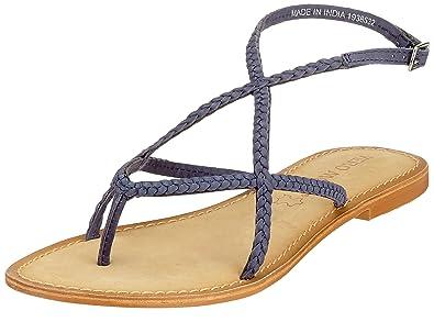Vero Moda - Damen - Beta Leather Sandal - Sandalen - rosa rpNGSVql