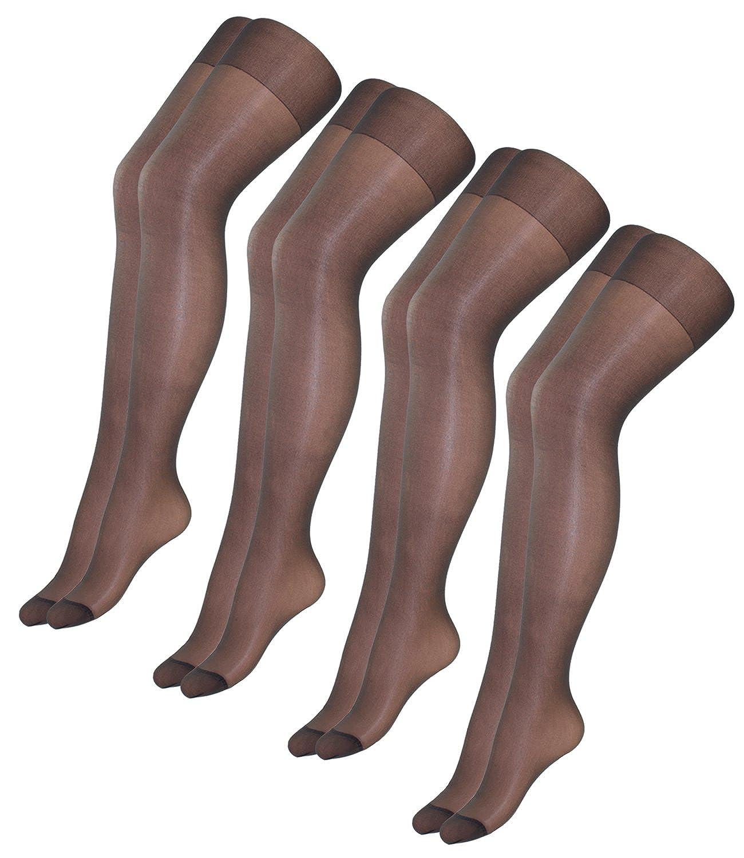 1835fc911d748 EveryHead Riese 2er, 4er oder 6er Pack Feinstrumpfhosen Damenstrumpfhosen  Sparpack Markenstrumpfhosen extra weich für Damen