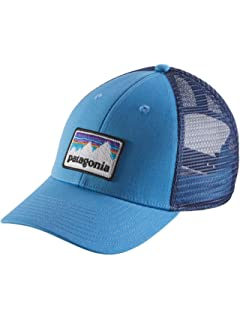 Patagonia Hats Fitz Roy Hex Trucker Cap - Black Adjustable  Amazon ... 49baaa633d7d