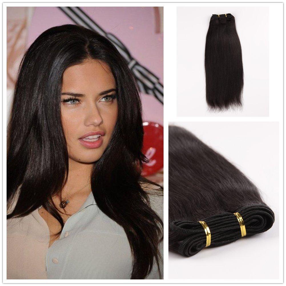 Amazon Wigsroyal 3 Bundles Yaki Express Human Hair Weave 16 In